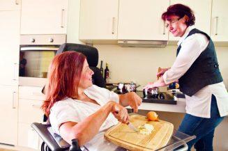 Rollstuhlgerechte Wohnungen